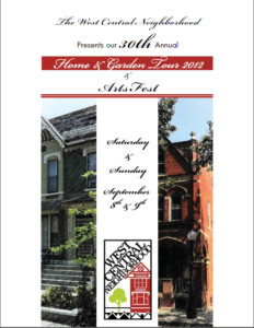 2012 Brochure Cover